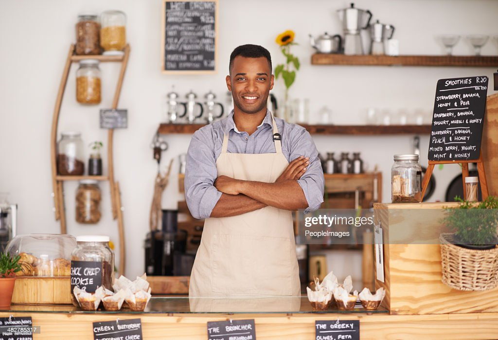 What can I get you? : Stock Photo