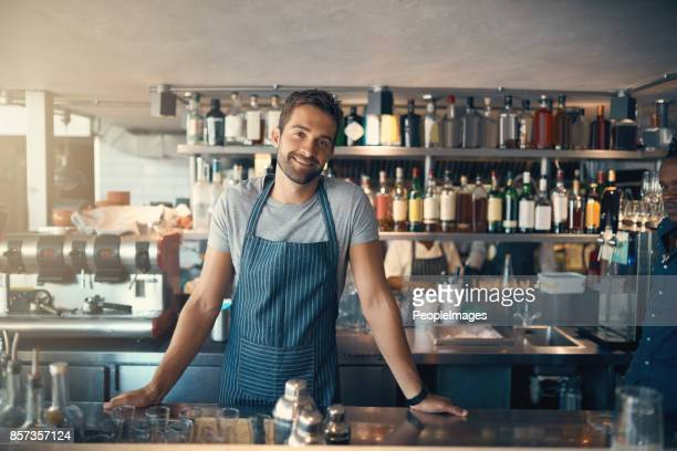 what can i make for you today? - bartender stock pictures, royalty-free photos & images