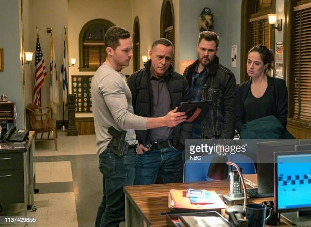 D What Could Have Been Episode 619 Pictured Jesse Lee Soffer as Jay Halstead Jason Beghe as Hank Voight Patrick John Flueger as Adam Ruzek Marina...
