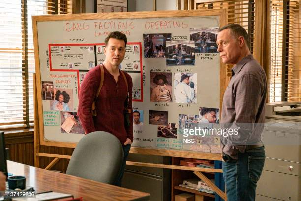 D What Could Have Been Episode 619 Pictured Jon Seda as Antonio Dawson Jason Beghe as Hank Voight