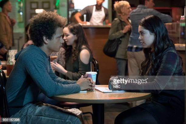 RISE What Flowers May Bloom Episode 103 Pictured Damon J Gillespie as Robbie Thorne Auli'i Cravalho as Lilette Suarez