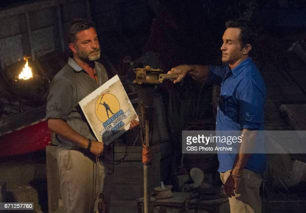 'What Happened on Exile Stays on Exile' Jeff Probst extinguishes Jeff Varner's torch at Tribal Council on the seventh episode of SURVIVOR Game...