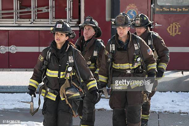 FIRE 'What Happened to Courtney' Episode 417 Pictured Miranda Rae Mayo as Stella Kidd David Eigenberg as Christopher Herrmann Jesse Spencer as...