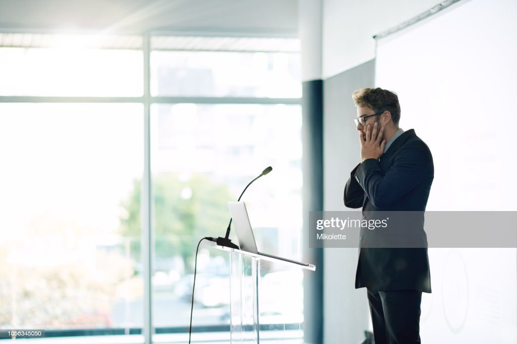 What have I gotten myself into? : Stock Photo