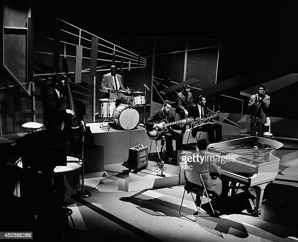 JAZZ What is Jazz Episode 1 Pictured Edie Safranski Osie Johnson Mundell Lowe Doc Severinsen Tony Scott Jimmy Cleveland