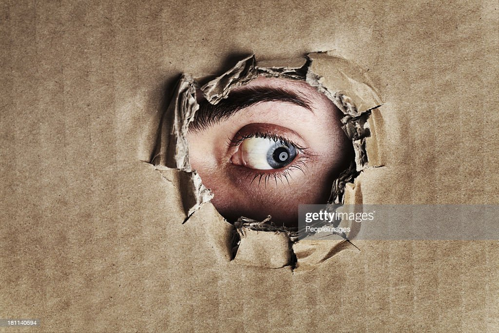 What is on the other side? : Stock Photo