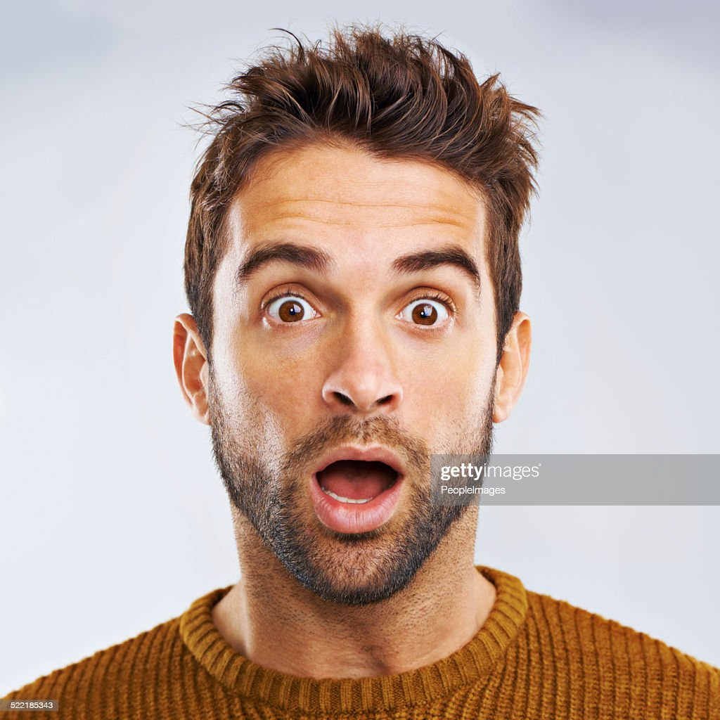 What just happened?? : Stock Photo