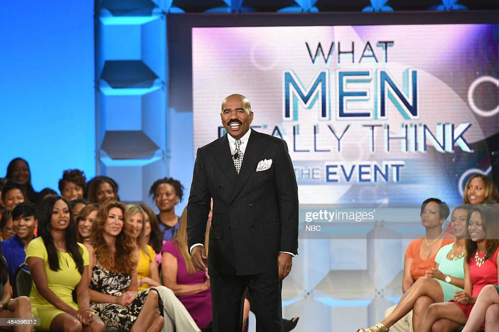SHOW -- What Men Really Think - A -- Pictured: Steve Harvey --