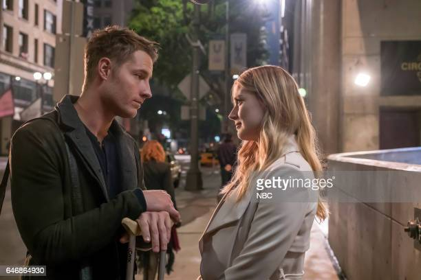 US 'What Now' Episode 117 Pictured Justin Hartley as Kevin Alex Breckenridge as Sophie