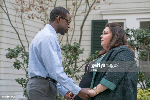 US What Now Episode 117 Pictured Sterling K Brown as Randall Chrissy Metz as Kate