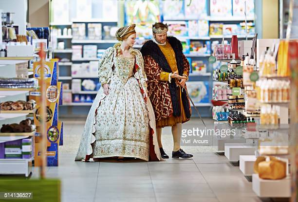 what say ye to this brand, my lady? - king royal person stock photos and pictures
