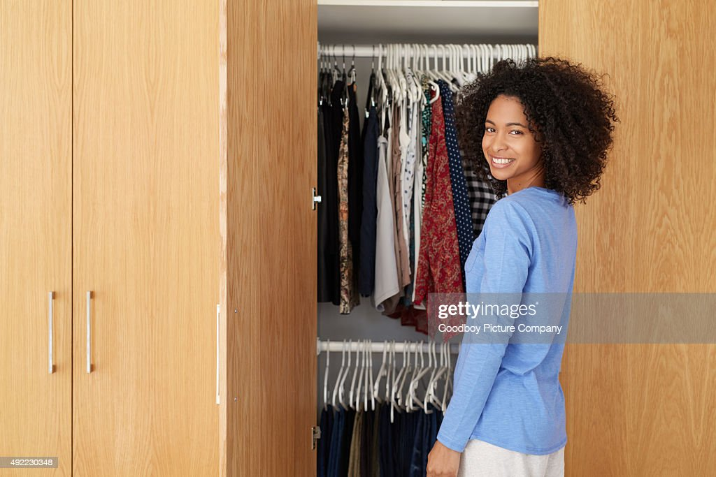 What shall I wear today? : Stock Photo