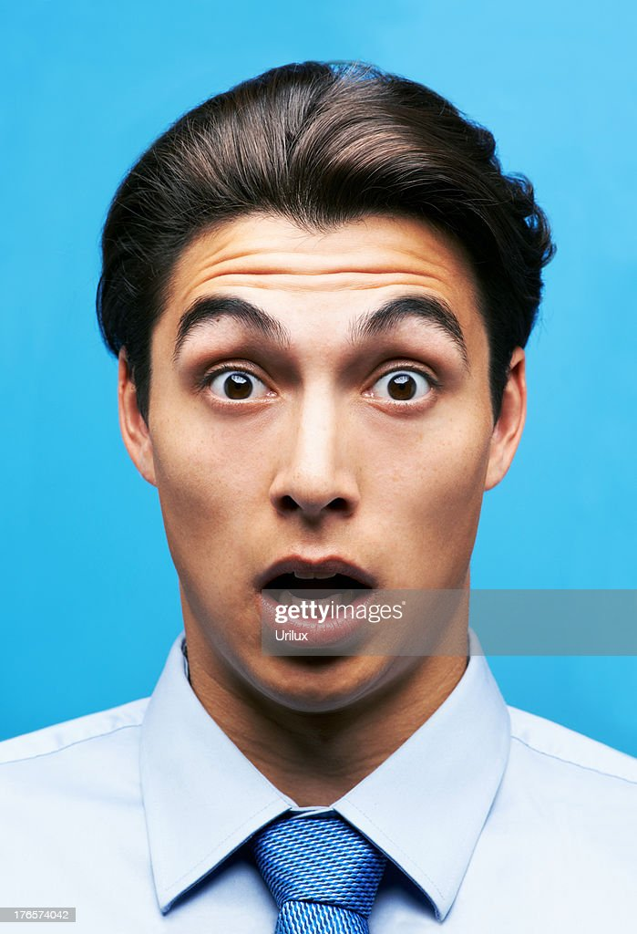 What?! They're retrenching people this month?! : Stock Photo