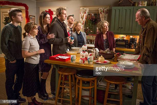 PARENTHOOD What To My Wondering Eyes Episode 411 Pictured Miles Heizer as Drew Holt Mae Whitman as Amber Holt Lauren Graham as Sarah Braverman Dax...