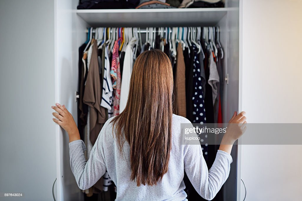 What to wear tonight? : Stock Photo