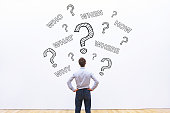 what, where, when, who and how, expert business advice concept