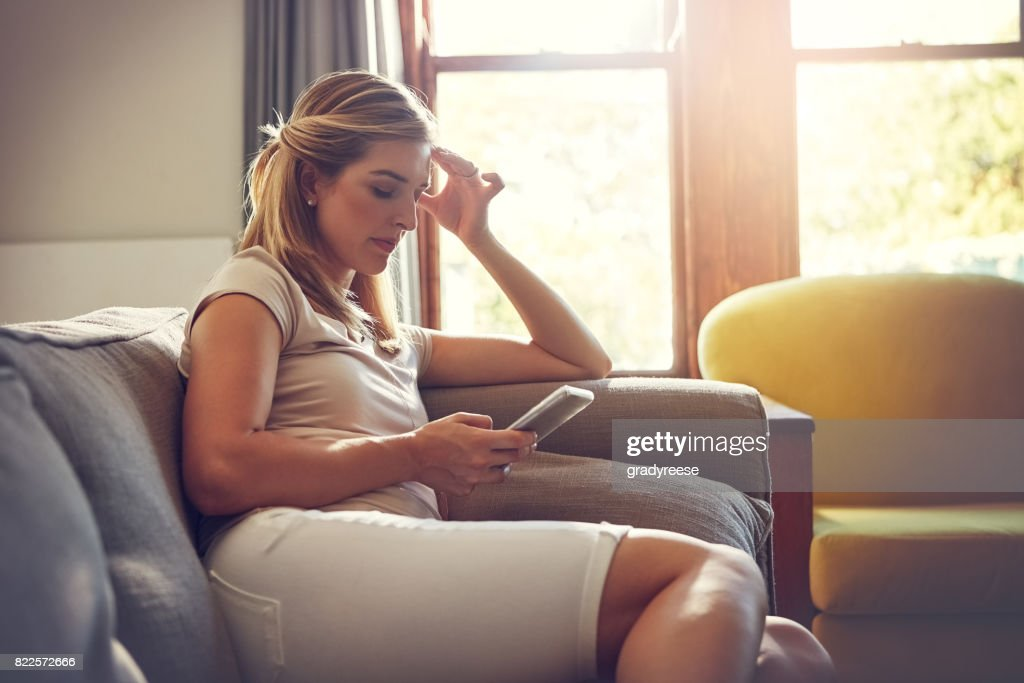 What you read online is not always true! : Stock Photo