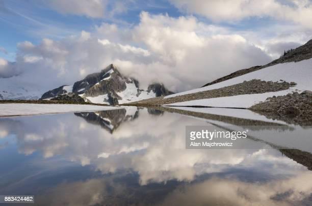 Whatcom Peak reflection North Cascades