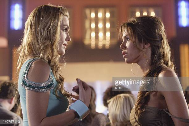 LAS VEGAS Whatever Happened to Seymour Magoon Episode 4 Pictured Molly Sims as Delinda Deline Nikki Cox as Mary Connell Photo By Paul...