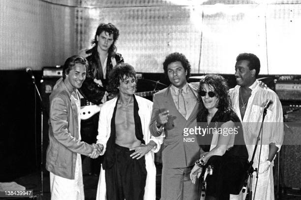 VICE Whatever Works Episode 2 Air Date Pictured Don Johnson as Detective James 'Sonny' Crockett John Taylor as JT Michael Des Barres as Power Station...