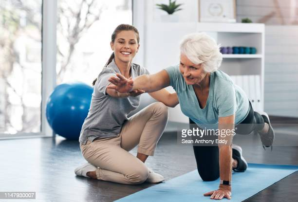 whatever your age it's important to workout - recovery stock pictures, royalty-free photos & images