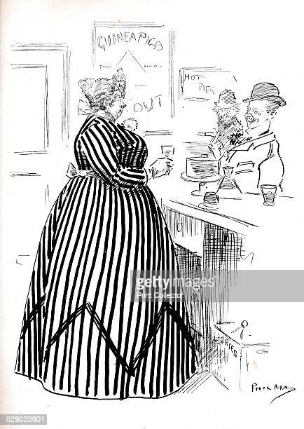 What's A Whisper 1906 A gentleman ordering a 'Whisper' from a barmaid A 'Whisper' is a cocktail which mixes whisky and Perrier water After a cartoon...