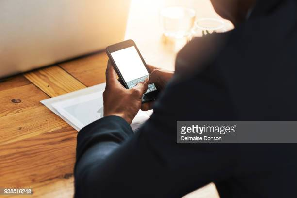 What's an entrepreneur without his smartphone?