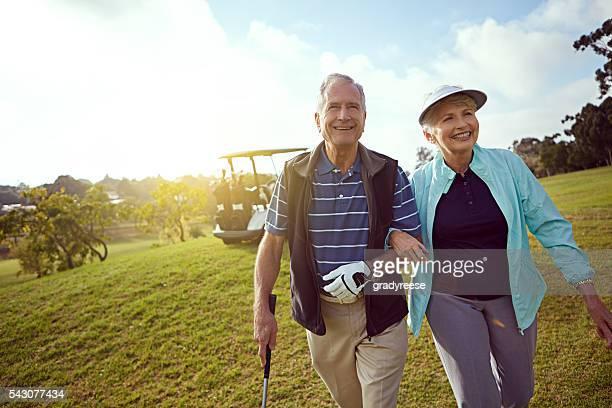 何よりもゴルフですか?