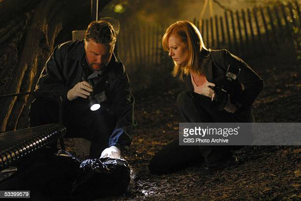 "What's Eating Gilbert Grissom?"" - Catherine and Grissom investigate the return of the blue paint serial killer that got away two years ago, on CSI:..."