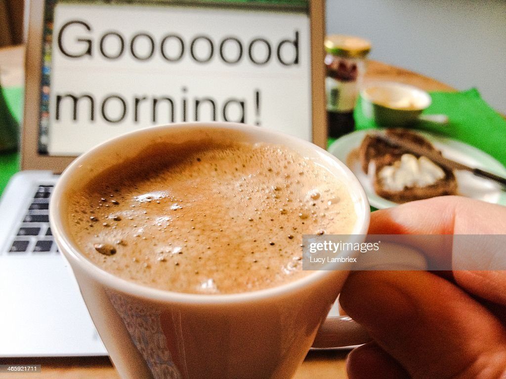 What's for Breakfast? : Stock Photo