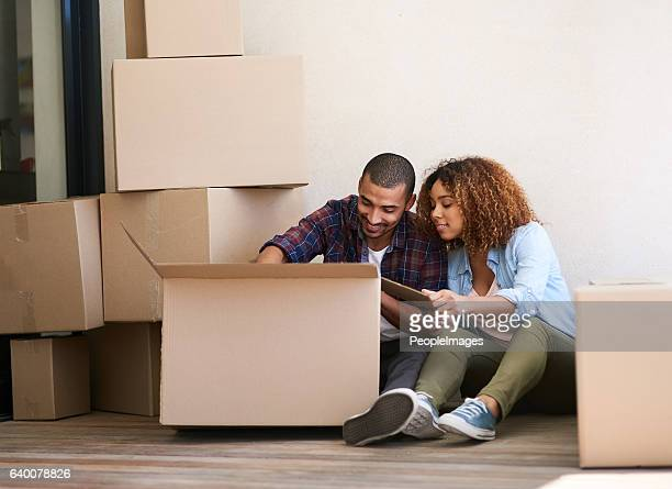 what's in the box? - unpacking stock pictures, royalty-free photos & images