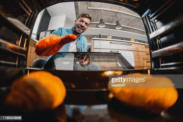 what's in the oven - oven stock pictures, royalty-free photos & images
