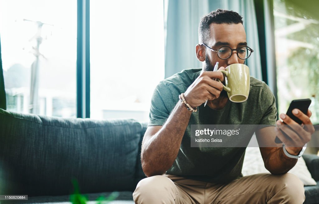 What's the vibe on the newsfeed : Stock Photo