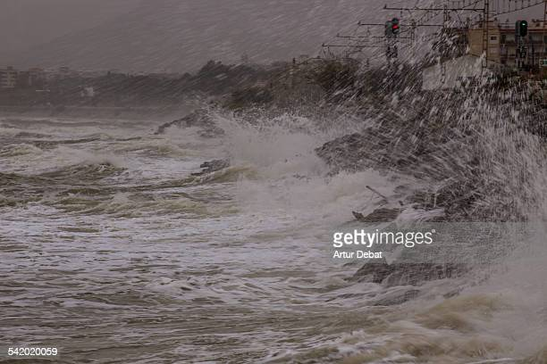 what's the weather? - maresme stock photos and pictures