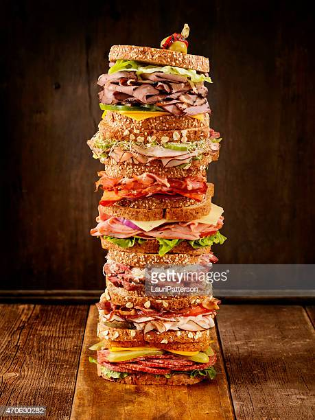 what's your favourite sandwich - roasted pepper stock photos and pictures