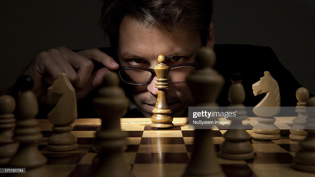 What's your next move? : Stock Photo