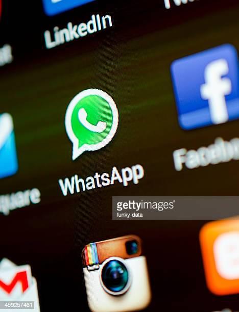 whatsapp アイコン - whatsapp ストックフォトと画像