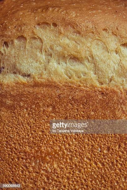 Wheat bread crust macro