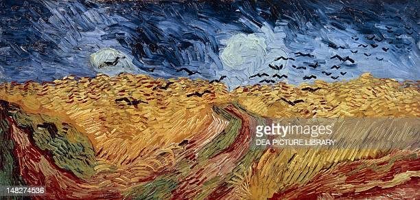 Wheat field with crows by Vincent van Gogh Amsterdam Van Gogh Museum