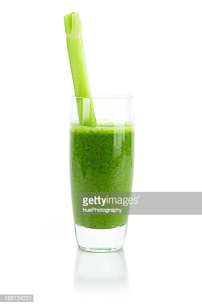 wheat grass smoothie - juice drink stock photos and pictures