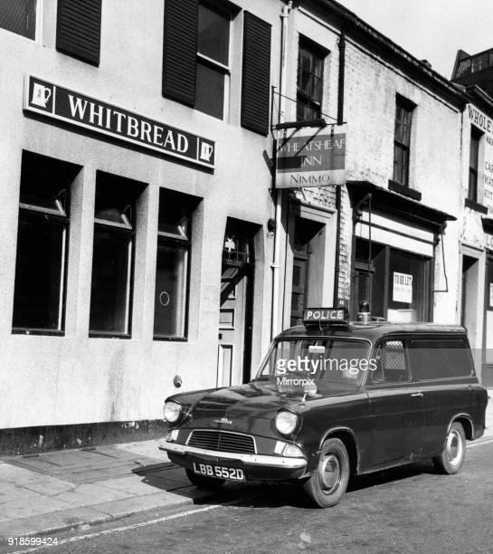 Wheatsheaf Inn Public House Waterloo Street Newcastle 3rd September 1969 Whitbread Brewery