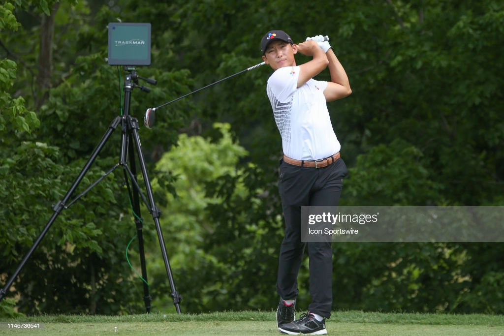 GOLF: MAY 23 PGA - Charles Schwab Challenge : News Photo