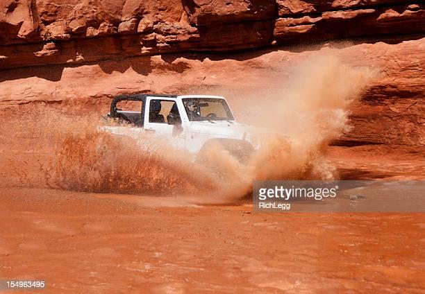4 Wheel Drive in Water