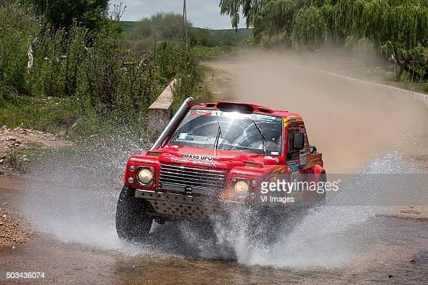 4 Wheel Drive411 Bruno Rodi Glen Thompson RALLYRAID UK Rally Raid UK4WD4x4ArgentienArgentinaDakar Press TeamDPTDPT2016Getty...