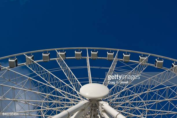 Wheel of Brisbane on a Clear Day