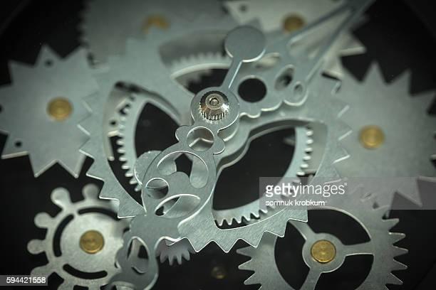 Wheel of clock