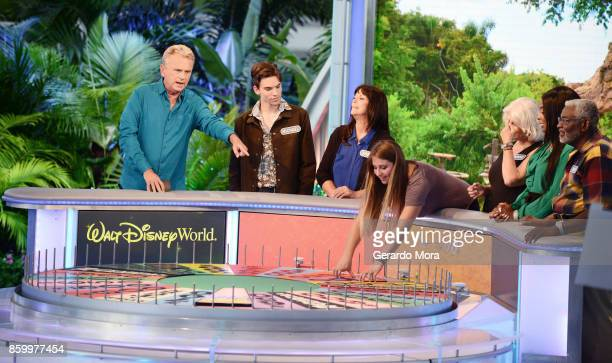 'Wheel of Fortune' host Pat Sajak attends a taping of the Wheel of Fortune's 35th Anniversary Season at Epcot Center at Walt Disney World on October...