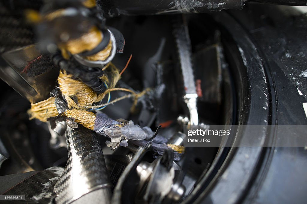 Wheel Tethers On The Sauber F1 Car During The Chinese Formula One News Photo Getty Images