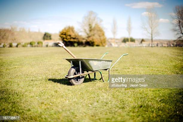 wheelbarrow - s0ulsurfing stock pictures, royalty-free photos & images