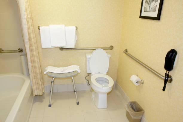 A Wheelchair Accessible Bathroom At Residence Inn Marriott Pictures - Accesible bathroom